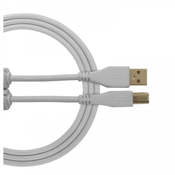 UDG Cable USB 2.0 (A-B) Straight 1M White - Main
