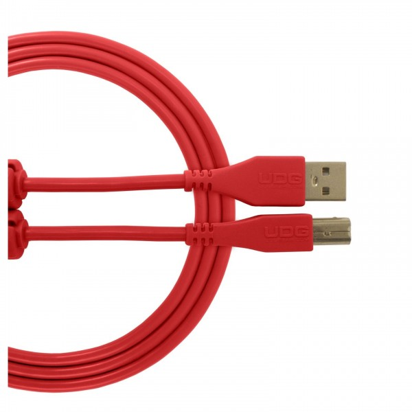 UDG Cable USB 2.0 (A-B) Straight 1M Red - Main