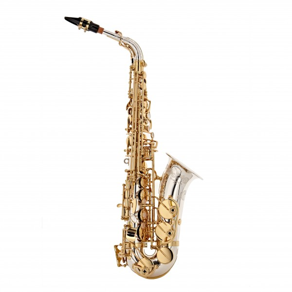 Yanagisawa AWO37 Alto Saxophone, Solid Silver
