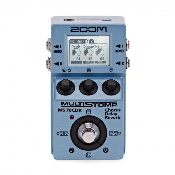 Zoom MultiStomp MS-70CDR Multi Effects Pedal
