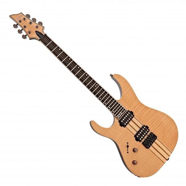 Schecter Banshee Elite-6 Left Handed Electric Guitar, Gloss Natural