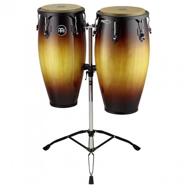 "Meinl Percussion Headliner 11""/12"" Conga Set, Vint. Sunburst"