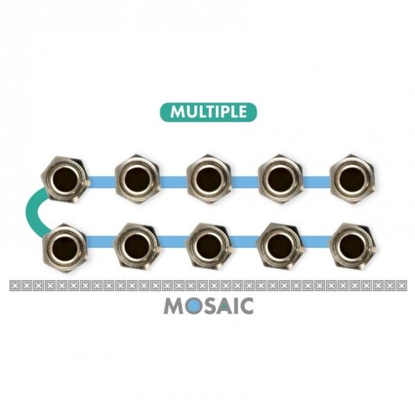 Mosaic 1U Multiplier Module, White