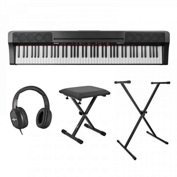 Alesis Prestige Artist Digital Piano Inc. Stand, Bench and Headphones