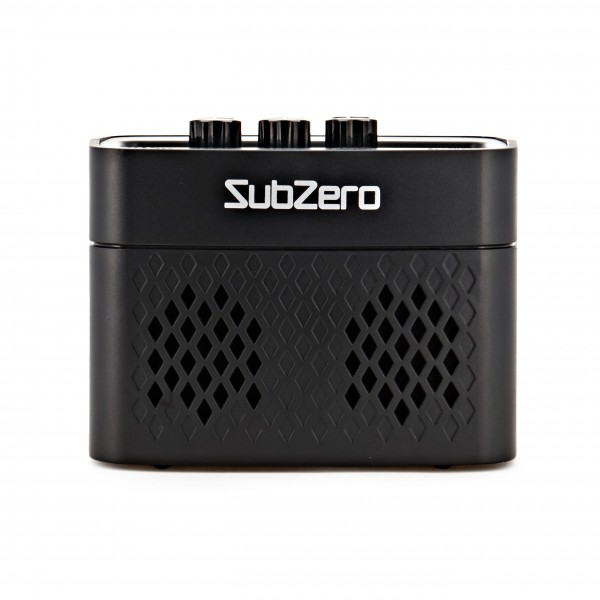 SubZero Rechargeable Micro Amp with Bluetooth, Black