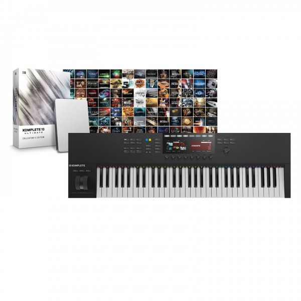 Native Instruments S61 MK2 with Komplete 13 Collectors Edition - Full Bundle