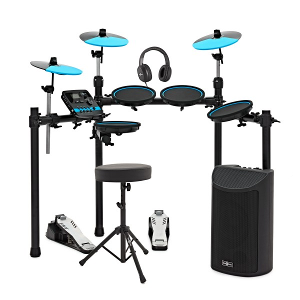 DD500BL Digital Drum Kit with Stool and Headphones