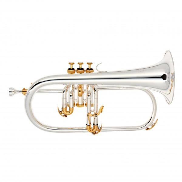 Odyssey OFG1300SG Flugel Horn, Silver and Gold