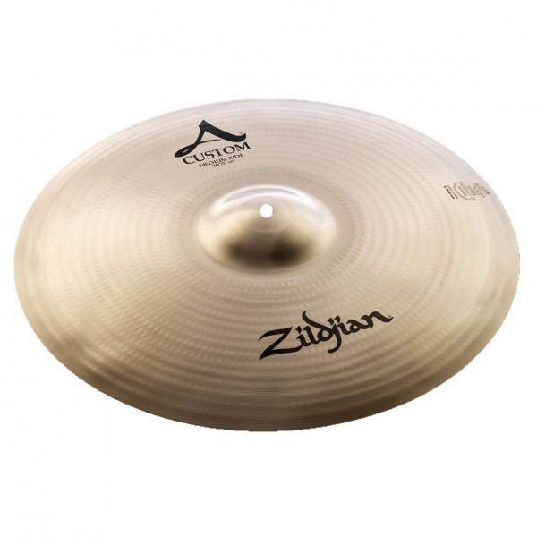 Zildjian A Custom 20'' Medium Ride Cymbal, Brilliant Finish