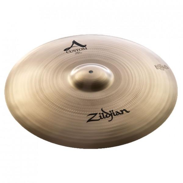 Zildjian A Custom 22'' Ride Cymbal, Brilliant Finish