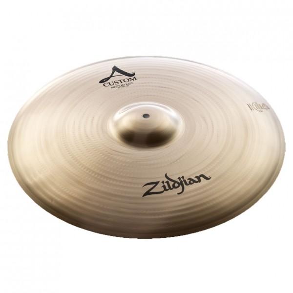 Zildjian A Custom 22'' Medium Ride Cymbal, Brilliant Finish