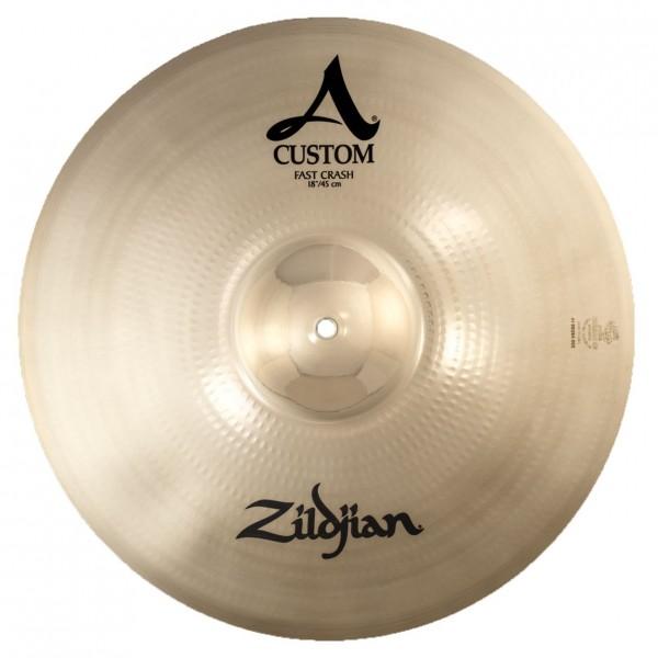 Zildjian A Custom 18'' Fast Crash Cymbal, Brilliant Finish