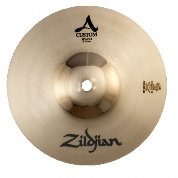 Zildjian A Custom 8'' Splash Cymbal, Brilliant Finish