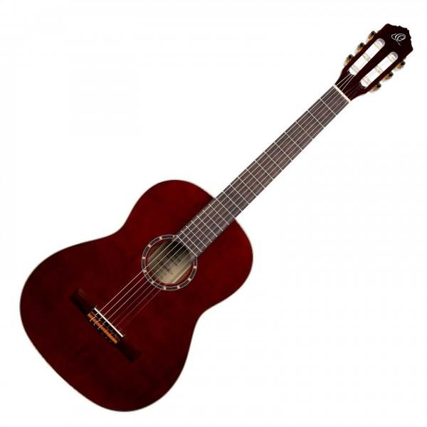 Ortega R131SN-WR Classical Guitar, Slim Neck Wine Red