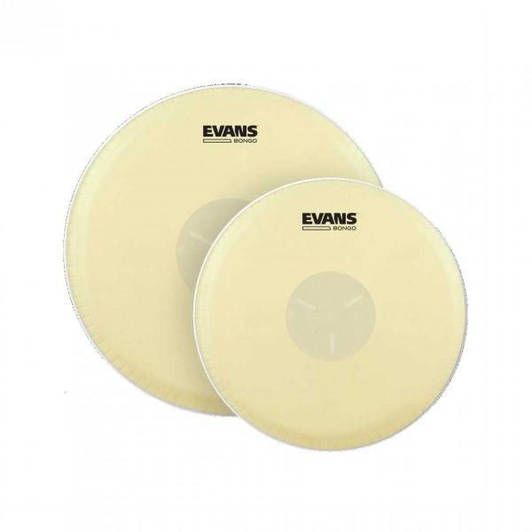 """Evans Tri-Center Bongo Drum Head Pack, 7 1/4"""" & 8 5/8"""""""