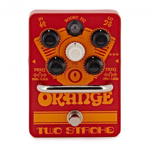 Orange Two Stroke Boost EQ Guitar Effects Pedal
