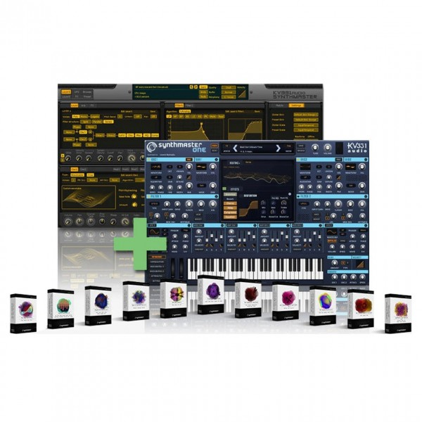 KV331 Audio Synthmaster EverythingBNDL, Digital Delivery