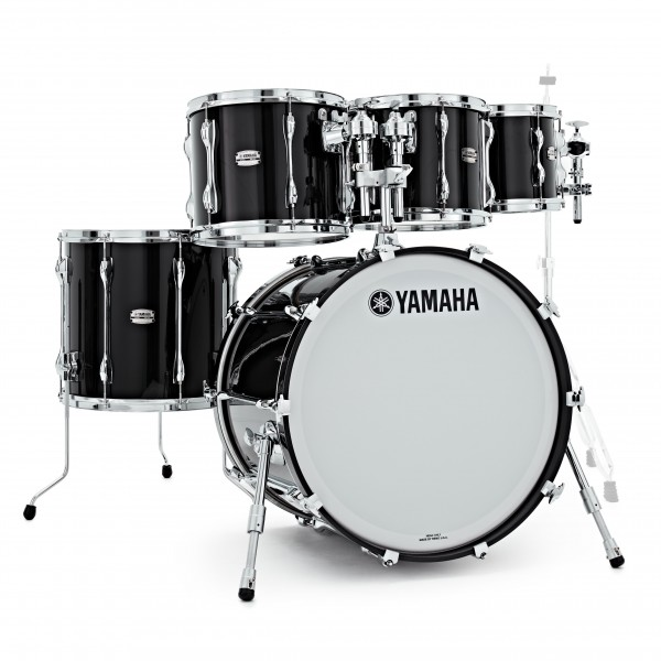 Yamaha Recording Custom 22'' 5pc Shell Pack, Solid Black