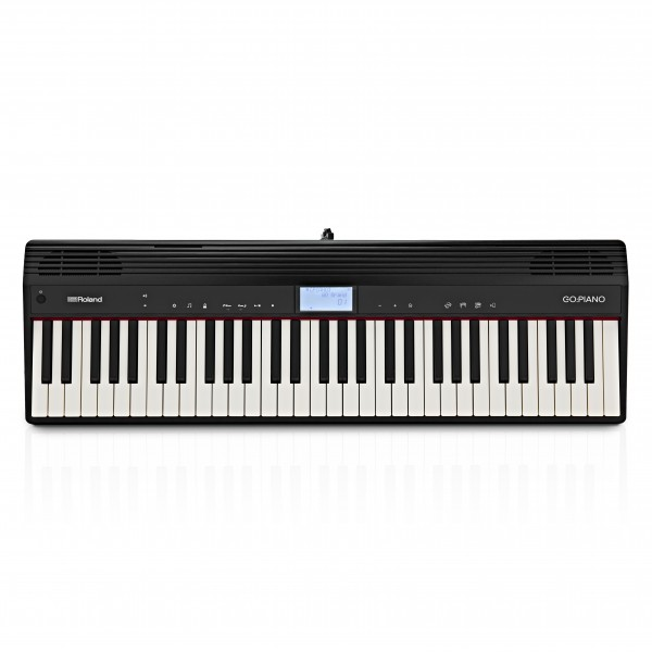 Roland Go Piano 61 Key Digital Piano, Black