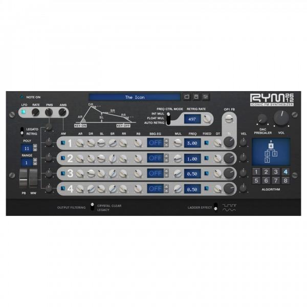 RYM2612 Iconic FM Synthesizer - Digital Delivery - GUI