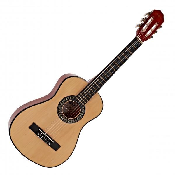 Junior 1/2 Classical Guitar, Natural, by Gear4music