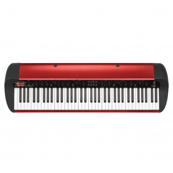 Korg SV-1 73 Note Stage Vintage Piano, Metallic Red Main