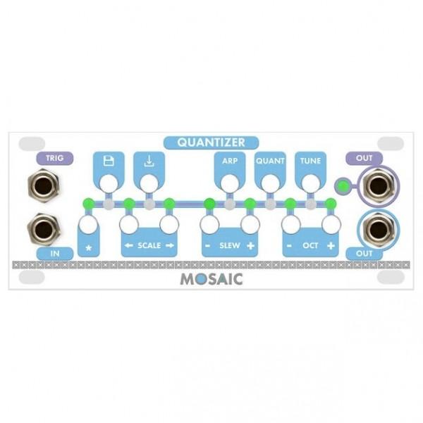 Mosaic 1U Quantizer Module, White