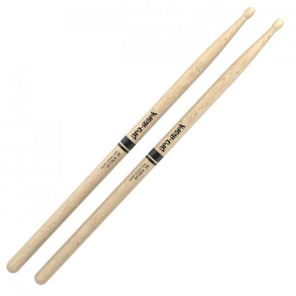 Promark Classic Attack 2B Shira Kashi Oak Drumsticks, Acorn Wood Tip