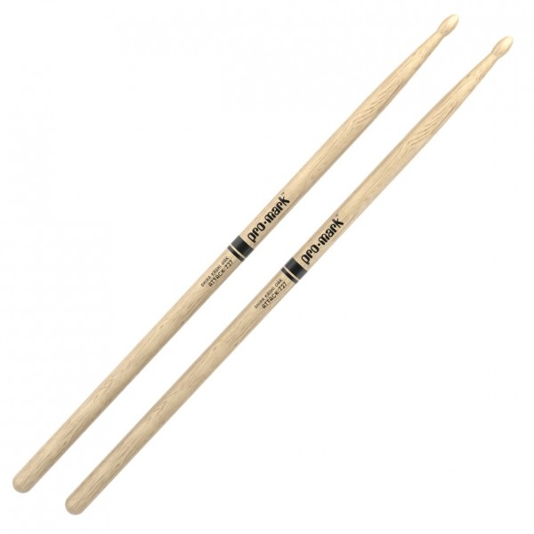 Promark Classic Attack 727 Shira Kashi Oak Drumsticks, Wood Tip