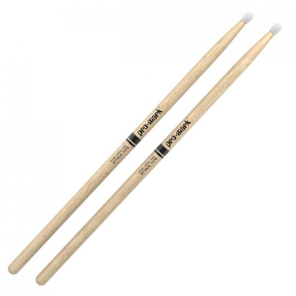 Promark Classic Attack 747B Shira Kashi Oak Drumsticks, Nylon Tip