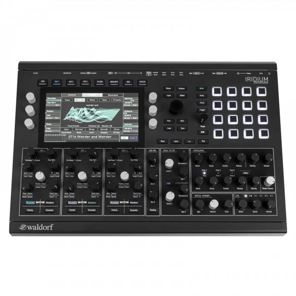 Waldorf Iridium Digital Synthesizer - Top