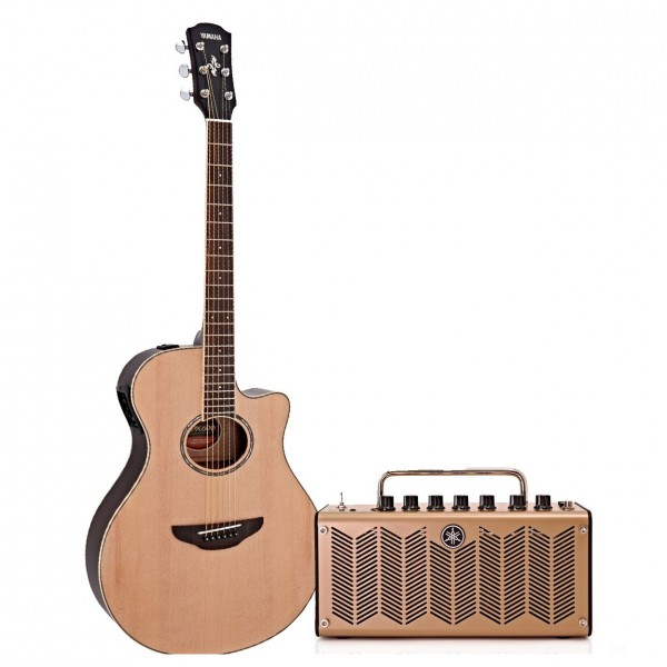 Yamaha APX600 Electro Acoustic, Natural and THR5A Acoustic Amp