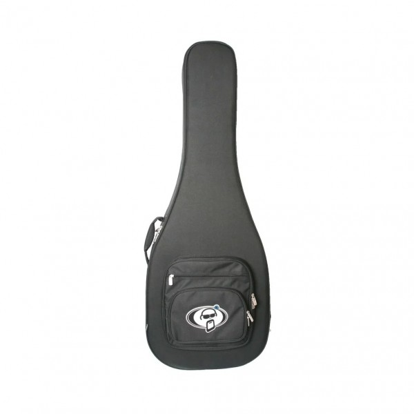 Protection Racket Acoustic Guitar Foam Case, Deluxe - Front View