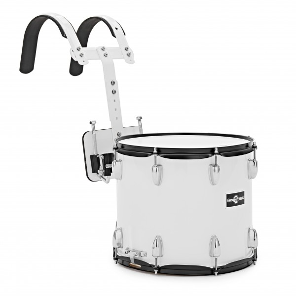 """14"""" X 12"""" Marching Snare Drum with Carrier by Gear4music"""