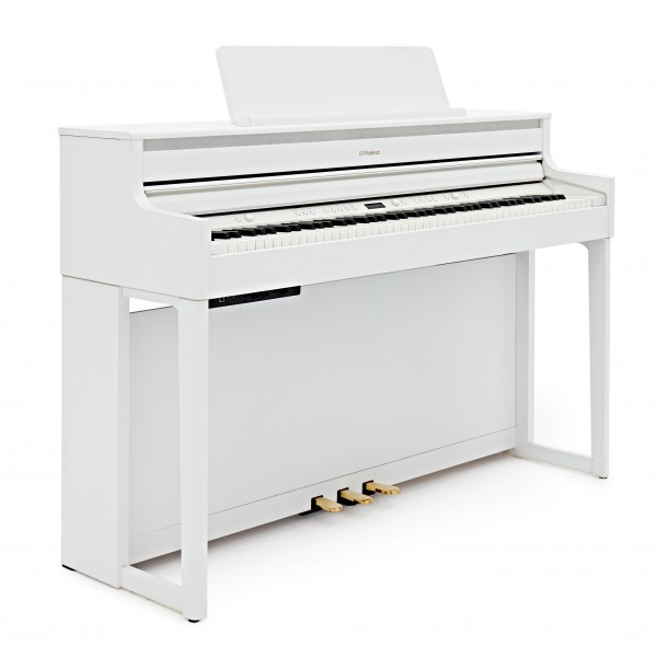 Roland HP704 Digital Piano, White