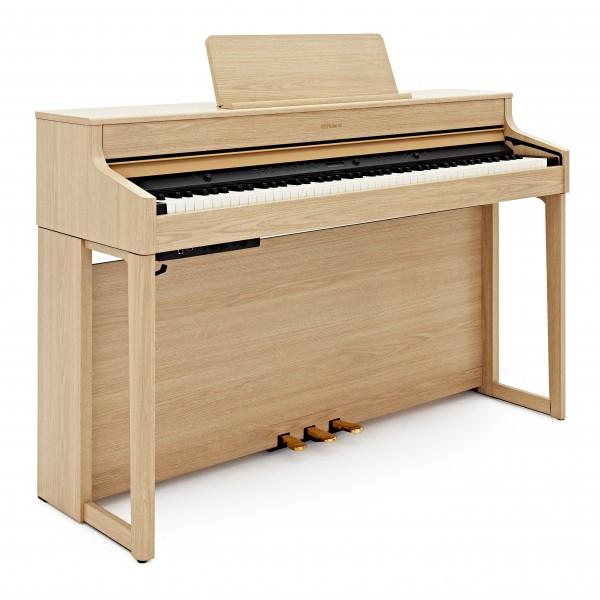 Roland HP702 Digital Piano, Light Oak