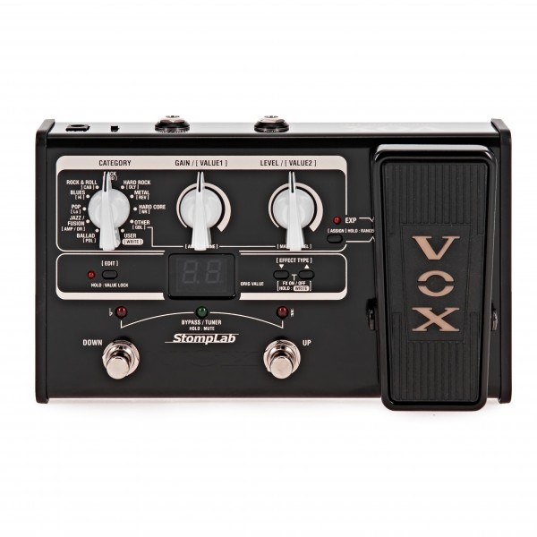 Vox StompLab IIG Guitar Multi-Effects with Expression Pedal
