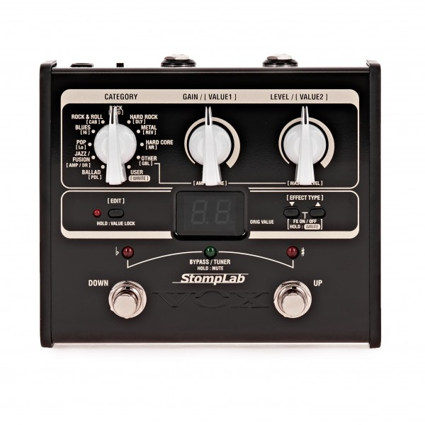Vox StompLab IG Guitar Multi-Effects Modelling Pedal