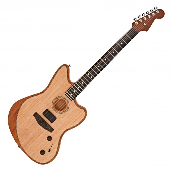 Fender American Acoustasonic Jazzmaster, Natural