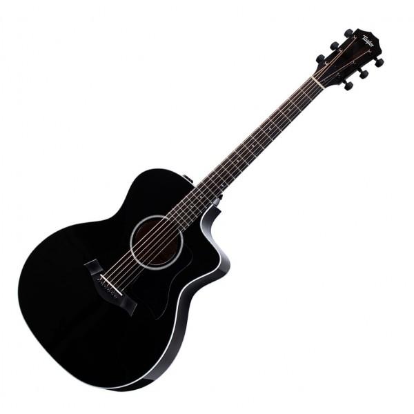 Taylor 214ce DLX Grand Auditorium Electro Acoustic, Black