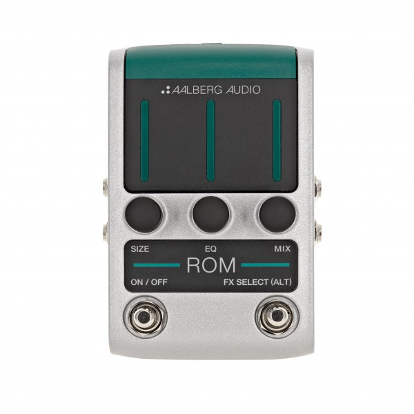 Aalberg Audio ROM RO-1 Reverb Pedal