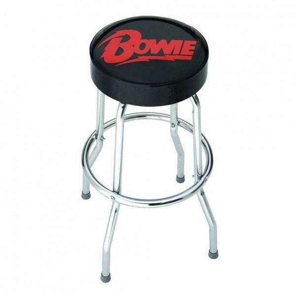 Rocksax David Bowie Logo Bar Stool