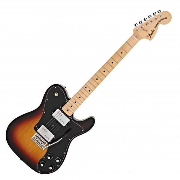 Fender MIJ 70s Telecaster Deluxe w/ Trem MN, 3-Color Sunburst