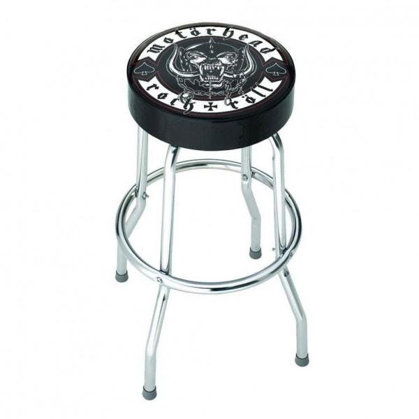 Rocksax Motorhead Rock N Roll Bar Stool