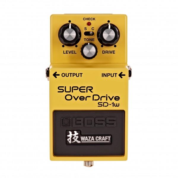 Boss SD-1W Waza Craft Custom Super Overdrive Pedal