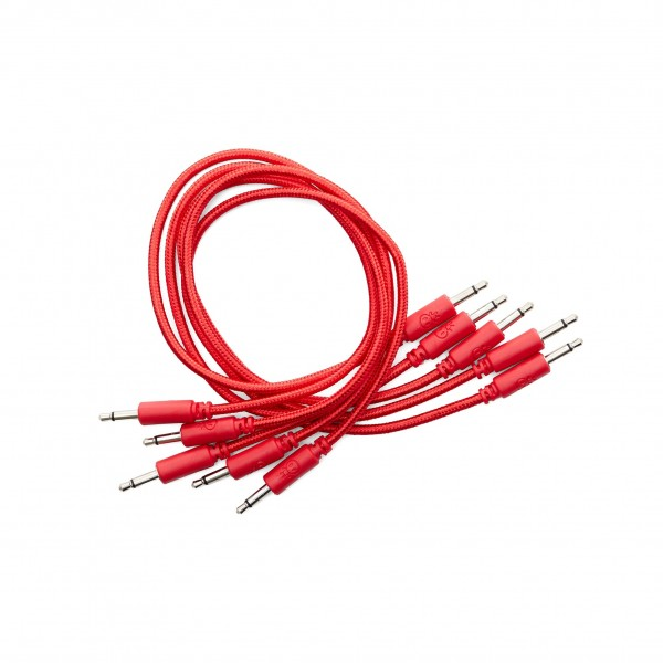 Erica Synths Eurorack Braided Patch Cables 90cm 5 pieces Red