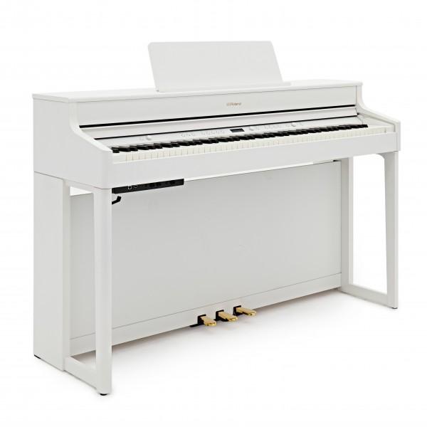 Roland HP702 Digital Piano, White