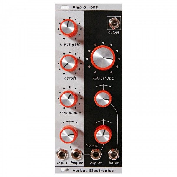 Verbos Electronics Amplitude and Tone 10HP
