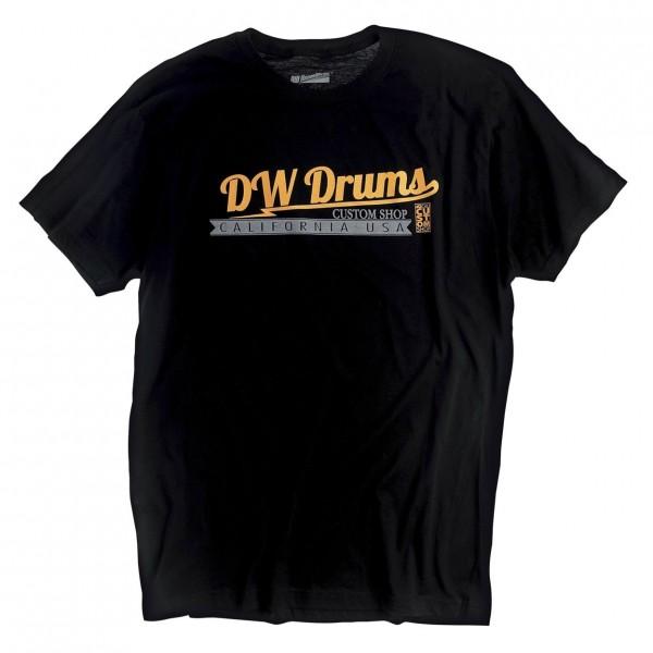DW Custom T-Shirt Black, Size L