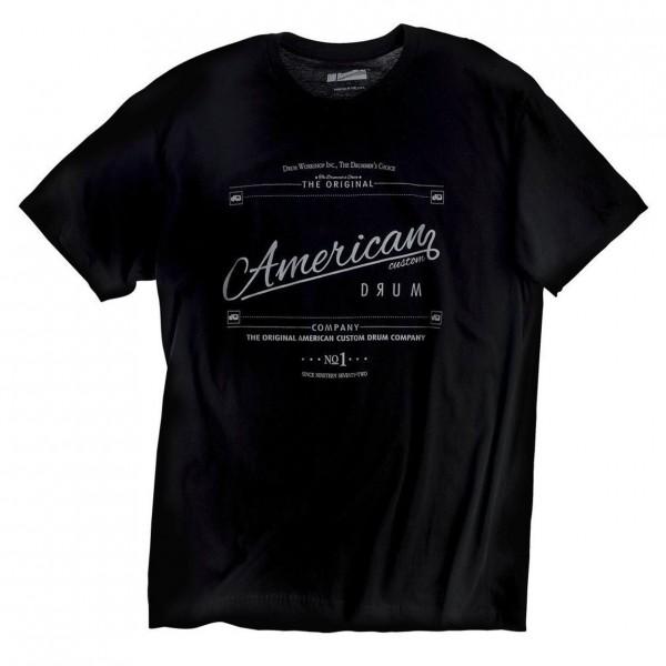 DW American Custom T-Shirt Black, Size M
